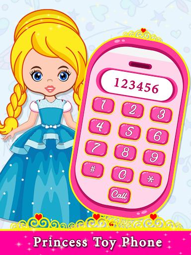 Little Princess Baby Phone - Princess Toy Phone  screenshots 1