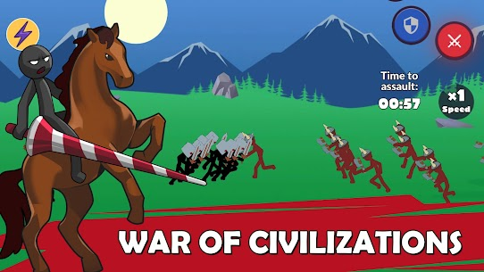 Age of Stickman Battle of Empires Mod Apk 1.0 (Inexhaustible Currency) 4