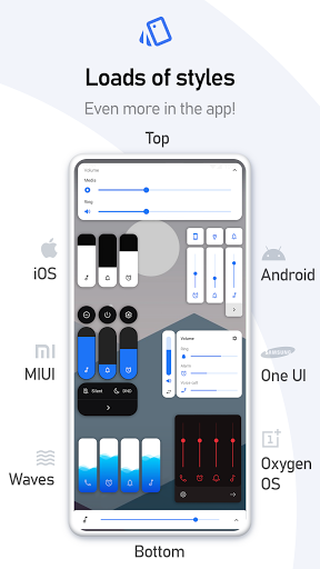 Volume Styles - Customize your Volume Panel Slider 4.1.3 Screenshots 11