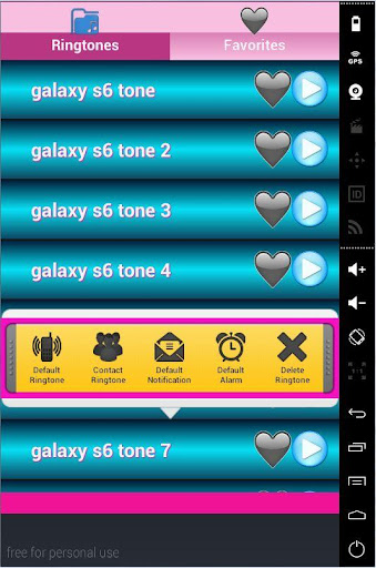 ringtones S6 edge galaxy screenshots 3