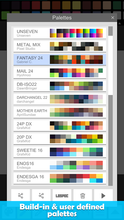Pixel Studio - Pixel art editor, GIF animation  poster 7