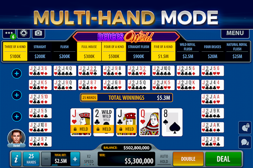 Video Poker by Pokerist 39.5.1 screenshots 2