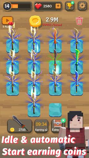 Merge Sword - Idle Blacksmith Master 1.4.4 screenshots 3