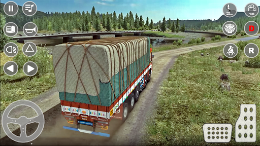 Indian Truck Cargo Simulator 2020: New Truck Games android2mod screenshots 3