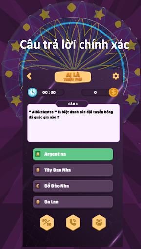 Ai Là Triệu Phú - Ai La Trieu Phu 2021 1.0.6 screenshots 1