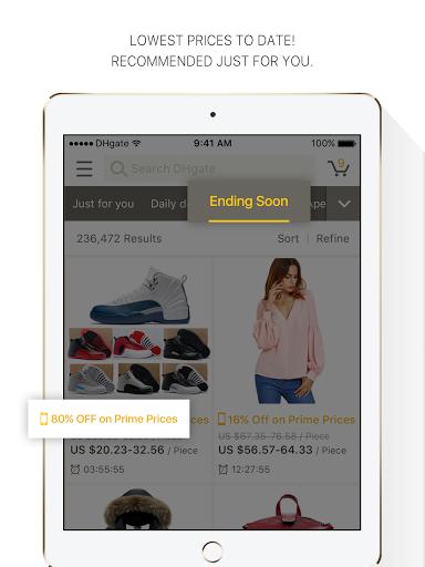 DHgate - online wholesale stores Apkfinish screenshots 12