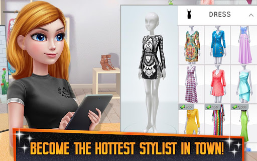 Super Stylist - Dress Up & Style Fashion Guru 1.8.06 screenshots 8
