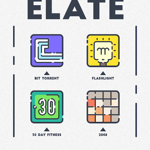 Download APK: ELATE – ICON PACK v1.9.8 [Patched]