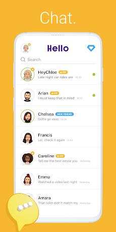 Hello - Talk, Chat & Meetのおすすめ画像2