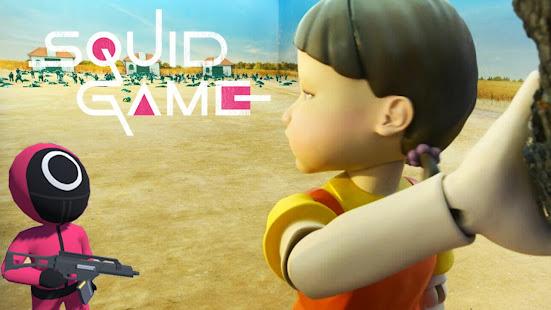 Squid Game Mobile Challenge Red Green Simulator 1 screenshots 1