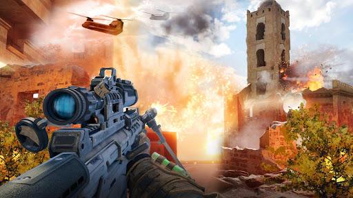 Télécharger Gratuit Army Sniper Shooter 2018: Commando Gun War apk mod screenshots 4