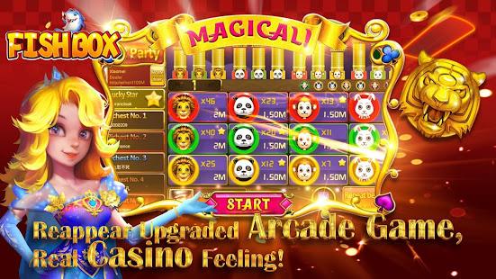 Fish Box - Casino Slots Poker & Fishing Games screenshots 2