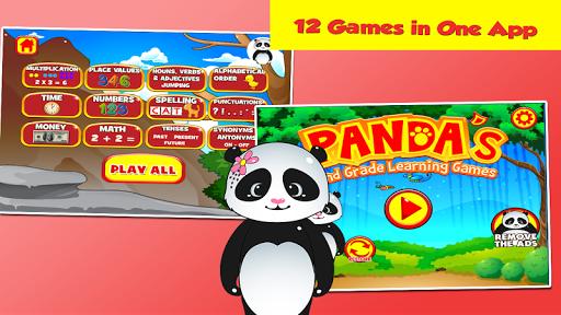 Panda Second Grade Games  screenshots 1
