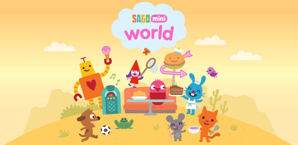 Sago Mini World: Kids Games  poster 0