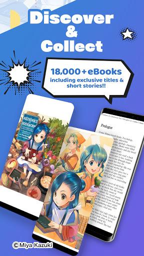 BOOKu2606WALKER - eBook App For Manga & Light Novels android2mod screenshots 3