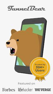 TunnelBear VPN Premium v3.5.31 MOD APK (Unlocked) 1