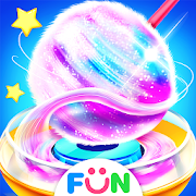 Colorful Cotton Candy Maker - Rainbow Sweety Games