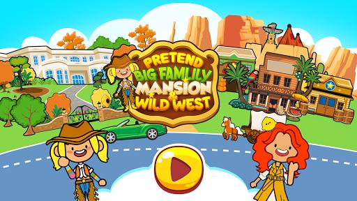 My Pretend Family Mansion - Big Friends Dollhouse  screenshots 1