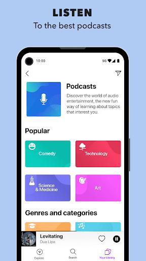 Anghami - Play, discover & download new music apktram screenshots 7