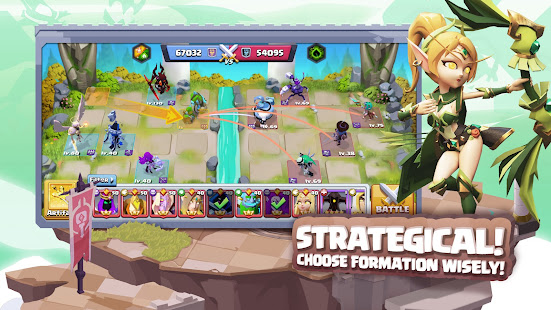Lazy Heroes: Embattle - Strategy 3D Idle Game screenshots 4