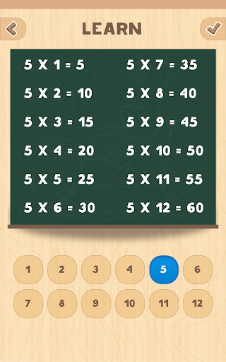 Multiplication table. Learn and Play! 1.2 Screenshots 21