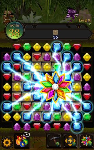 Secret Jungle Pop : Match 3 Jewels Puzzle Apkfinish screenshots 9