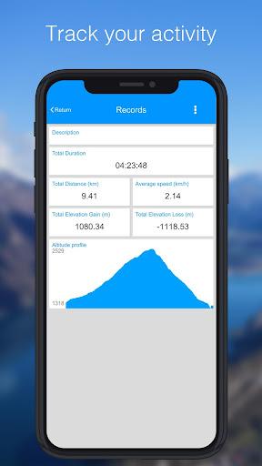 Relief Maps - 3D GPS Hiking | Trail Running | Ski 1.0.5 Screenshots 1