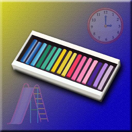find the color chalk screenshot 1