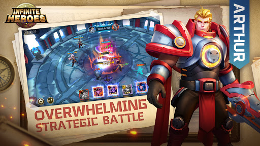 Infinite Heroesuff1aldle RPG game Apkfinish screenshots 5