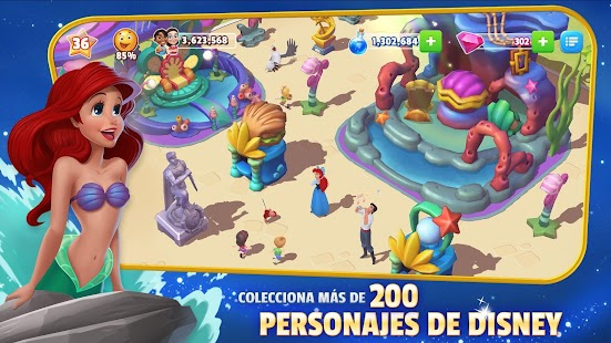 Disney Magic Kingdoms:Crea tu propio parque mágico Screenshot