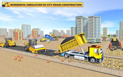 Grand City Road Construction Sim 2018 modavailable screenshots 6