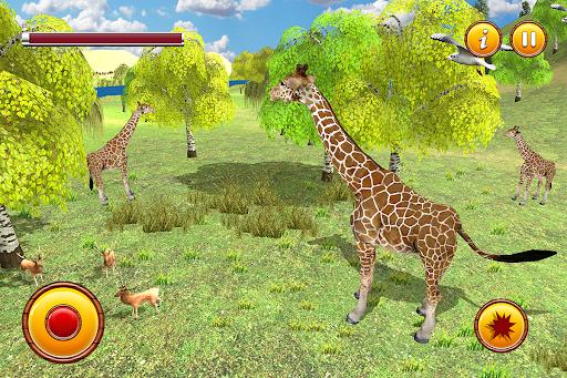 Giraffe Family Life Jungle Simulator apktram screenshots 7