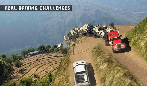 USA Truck Driving School: Off-road Transport Games  screenshots 8