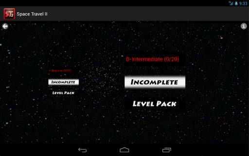 space travel ii screenshot 1