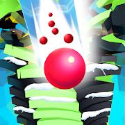 Ball Run Stack - 8 Ball Game Stack Ball 3D Helix