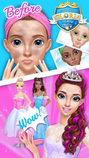 Princess Gloria Makeup Salon apkmr screenshots 3