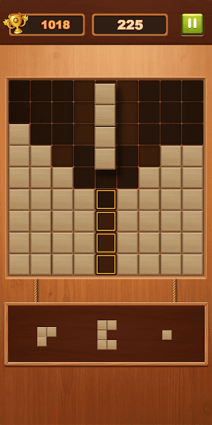 Captura 3 de Block Puzzle - Free Sudoku Wood Block Game para android