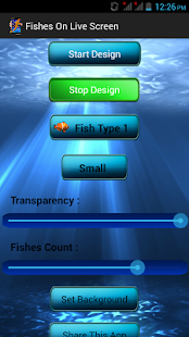 Fishes on Live Screen 2.4 Screenshots 5