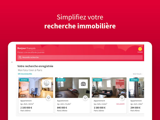 SeLoger - achat, vente et location immobilier apktram screenshots 6