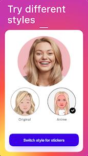 Mirror: yüz uygulaması, avatar, çıkartma ve emoji Eğlenceli Full Apk İndir 2
