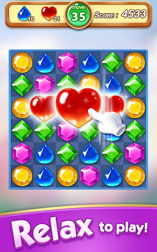 Jewel & Gem Blast - Match 3 Puzzle Game 2.5.1 screenshots 14