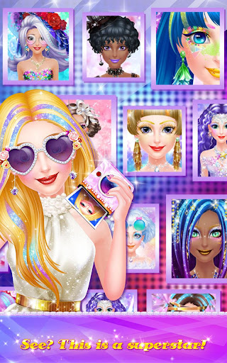 Superstar Makeup Party screenshots 10