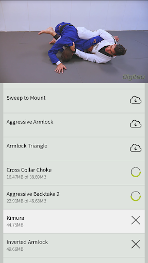 digitsu - bjj video library screenshot 3