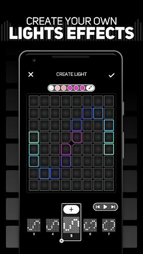SUPER PADS LIGHTS - Your DJ app android2mod screenshots 4