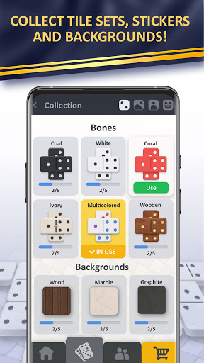 Domino online classic Dominoes game! Play Dominos! apklade screenshots 2