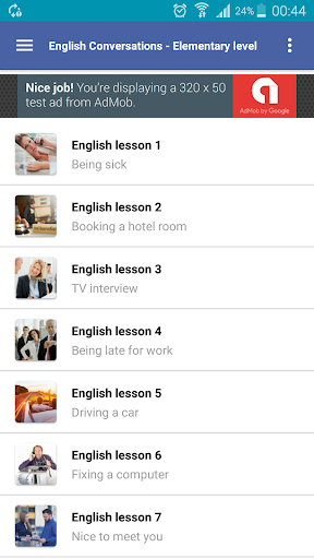 learning english conversation for elementary screenshot 2