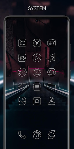 Download APK: Vera Outline White – White linear icons v3.7 [Patched]