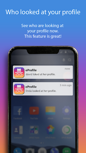 eProfile - Who Viewed My Profile for Instagram 1.0.4 screenshots 1