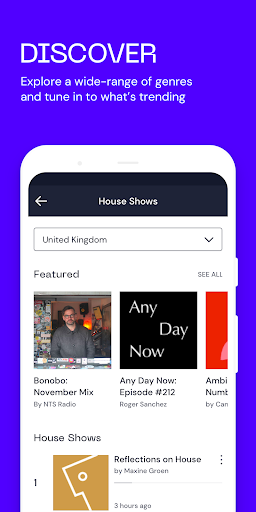 Mixcloud - Radio & DJ mixes android2mod screenshots 4