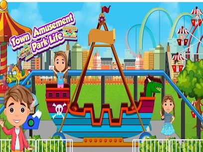 kasaba eğlence parkı hayatı  eğlenceli oyunlar Apk Son Sürüm 2021 5
